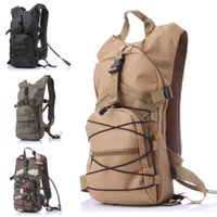 Wholesale large military backpacks - Military Tactical Backpack Outdoor Sports Water Bag Backpack Large Capacity Riding Backpack Multipurpose Camouflage Bag Free DHL G583F