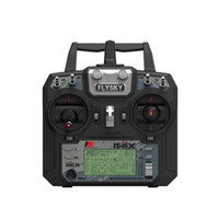 Wholesale flysky rc - Newest Flysky FS-i6X 2.4GHz 10CH RC Transmitter With i-BUS Receiver For RC Heli Quadcopter Airplane
