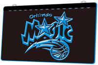 бесплатные барные вывески оптовых-LS839-b-Magic-Basketball-Bar-Neon-Light-Sign Decor Бесплатная доставка Dropshipping Оптовая 6 цветов на выбор