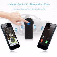 ingrosso vendita di altoparlanti del bluetooth-Freeshipping 1pcs Bluetooth Audio Audio Stereo Adattatore ricevitore per auto AUX IN Home Speaker MP3 vendita calda e all'ingrosso in tutto il mondo