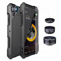 Wholesale waterproof fishing camera for sale - Group buy Waterproof Shockproof case Aluminum Metal Cover For iPhone X Xs PLUS Samsung Galaxy S7 S8 S9 Cases Duty Armor Camera Fish eye lens
