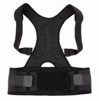 ingrosso uomini di correzione posteriore-Reggiseno postura regolabile da donna per uomo Cintura di sostegno con cinturino magnetico per supporto alla schiena