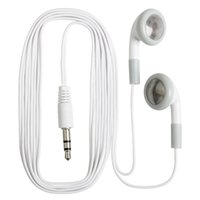 hd earphones UK - Fashion in-ear Earphone Headphone Earbuds 3.5mm For Cell phone iphone Samsung Mp3 Mp4 Mini HD headset Free Shipping 3000pcs lot