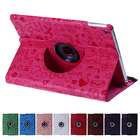 Wholesale case flip girl for sale – best Lovely Magic Girl Rotating Flip PU Leather Smart Stand Case Cover For New iPad Pro Air Air2 Mini
