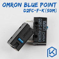 Wholesale Omron Switches - 5pcs lot Free shiping OMRON Micro Switch Microswitch D2FC-F-K 50m for Mouse Microswitch Next Generation of D2FC-F-7N 20m
