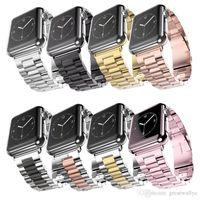 smart uhren zum verkauf großhandel-Heißer verkauf edelstahl handgelenk band link armband ersatz armband für uhr 1 2 3 38mm 42mm