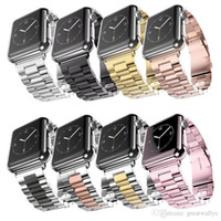 Wholesale Wholesale Sale Smart Watch - Hot Sale Stainless Steel Wrist Band Link Bracelet Replacement Watchband For Watch 1 2 3 38mm 42mm