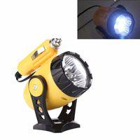 trabalho mais leve venda por atacado-12 V Universal Luzes De Emergência Do Carro 5 Lâmpadas LED Mini Carro Magnético Reparação Trabalho Holofotes Luz Mais Leve Magnético Auto Ferramenta Do Carro Q0388