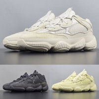 Wholesale kanye moon boots for sale - With box Desert Rat Running Shoes Mens Kanye West Super Moon Yellow Designer sneakers Womens Blush Utility Black winter boots