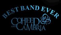 ingrosso best band ever-LS1539-b-Best-Band-Ever-Coheed-Cambria-Neon-Light-Sign Decor Spedizione Gratuita Dropshipping All'ingrosso 8 colori tra cui scegliere