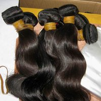 Wholesale Best Sexy Ladies - Sexy Girl Natural Shiny Raw Cambodian Virgin Body Wave Hair 3 Bundles(300g) No Chemical Process BEST 8A World Charming Lady