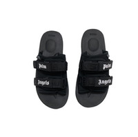 Wholesale rubber angels - NEW Europe Brand Fashion mensstriped sandals causal Non-slip summer huaraches slippers flip flops palm angels Suicoke slippers