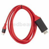 câble étendu hdmi achat en gros de-2M USB 3.1 Câble USB C vers HDMI Type C Convertisseur HDMI 4K 30Hz HD Vidéo graphique externe Câble d'extension / adaptateur