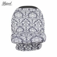 Wholesale cars feeding for sale - Baby Floral Nursing Apron Car Seat Cover Shopping Cart Carseat Canopy Nursing Covers Breastfeeding Apron Baby Feeding Cover
