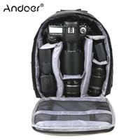 dslr dijital kamera sırt çantası toptan satış-Açık Küçük DSLR Kamera Çantası Dijital Kamera Sırt Çantası Suya dayanıklı Çok fonksiyonlu Nefes Çantası