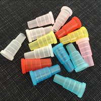Wholesale Disposable Hookah Tips - Hookah Shisha Test Finger Drip Tip Cap Cover 510 Plastic Disposable Mouthpiece Mouth Tips Healthy for E-Hookah Water Pipe Individual Package