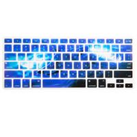 15 кожаный чехол для ноутбука оптовых-Клавиатура ноутбука Обложка Snow Wolf Мягкая клавиатура Силиконовый чехол Protect Skin для Pro 13 «» - 15 «» 2018