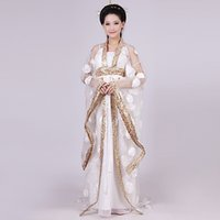 vestidos gala se pierde al por mayor-La princesa concubina imperial de la dinastía Tang en xiangulibao Chest Ru falda elegante y traje de Han de cola grande