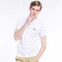 Wholesale Polka Dot Shirts For Men - Mudi Men 'S Polo Shirt Short Sleeve Polo New Summer Male Polo Shirt Cotton Short Shirt Fashion Casual Poloshirt for Men Designer Polos