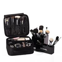 bolsas de belleza de viaje al por mayor-Belleza bolsa de cosméticos de alta calidad de viaje organizador cosmético de la cremallera portátil de maquillaje bolsa de diseñadores troncal bolsas de cosméticos