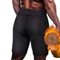 807f1591a8 Sweat Sauna Fitness Pants for Men High Waist Trainer Body Shaper Corset  Thermal Workour Slimming Shapewear Pants Compression