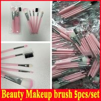 Wholesale beauties factory brushes for sale - Group buy 2018 Factory direct Holiday Edition Makeup Brush Set Limited Edition Pink Brush Set Beauty Tools Christmas Gift Straight Shipping