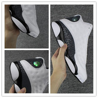 Wholesale Wrestling Shoes Mens Size 13 - high quality 13s mens basketball shoes for sale Man Love & Respect white Sneakers Sports Training shoes Size US7-13 free shipping