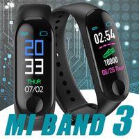 Wholesale fitness bands for sale - M3 Smart Band Bracelet Heart Rate Watch Activity Fitness Tracker pulseira Relógios reloj inteligente PK fitbit XIAOMI apple watch