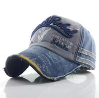 sombreros snapback vintage para hombres al por mayor-Gorras de béisbol de los hombres Papá Casquette Mujeres Gorros del Snapback Sombreros del hueso para los hombres Moda Vintage Sombrero Gorras Letra Algodón Cap
