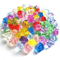 ingrosso perline di pietra acrilica della resina-1.1x1.4cm acrilico colorato perline sfuse cristallo vetro pietra resina fai da te materiale guscio mobile bling Bling Decor