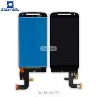 touchscreen für moto g2 großhandel-Großhandel XT1063 G2 LCD Touchscreen für Moto Motorola G2 LCD Display mit Digitizer Assembly Ersatz