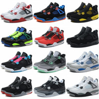 Wholesale competitive sports - Best 4 Classic Pure Money Royalty Basketball Shoes Mens Black Red Competitive Sports Top Quality 4s Athletics Sneakers US 8-13