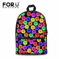 Wholesale stylish backpacks for ladies for sale - Group buy Women s Backpack Ladies Colorful Flower Prints Bagpack for Females Stylish Floral Back Pack Tourism Package Mochila