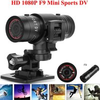 Wholesale Full HD Camera P DV Mini Waterproof Bike Helmet Action DVR Video Cam Camera For
