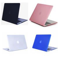 macbook için kapak kasası toptan satış-MacBook Pro 15 Vaka 2016 Vstartek Pürüzsüz Yumuşak Dokunmatik Mat Buzlu Sert Kabuk Kapak Apple MacBook Pro için 15