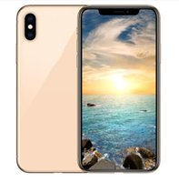 Wholesale dual sim phones online - ERQIYU goophone Xs Max dual sim unlocked cell phones inch MTK6592 Octa Core shown G LTE G RAM GB ROM Smartphones