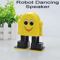 Wholesale play dance - Wireless Speakers Smart Dancing Robot Bluetooth Speaker Portable Speakers Compatible Iphone Samsung Cell Phones Music Play