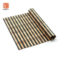 çince aksesuar nakliye toptan satış-Ücretsiz Kargo 40x30 cm Doğal Bambu Mat Çin Bambu Set Aksesuar