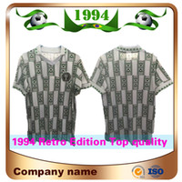 57bdd6ec083 Wholesale retro soccer jerseys resale online - 1994 Retro Edition Nigeria Soccer  Jersey Starboy Soccer Shirt