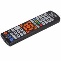 aprendizaje a distancia al por mayor-VBESTLIFE IR Control de control remoto inteligente en inglés con función de aprendizaje universal para TV LCD LED 3D CBL DVD SAT