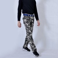 Wholesale military outdoor clothing - Mens Pants Camouflage Pants Multi-Pocket Overalls Daily Casual Outdoor Cotton Military Trousers For The Fashion Clothes