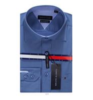 conceptions de chemise à carreaux occasionnels achat en gros de-T-shirt à manches longues pour hommes 2018 marque de mode décontractée pour hommes, conception et impression de haute qualité crâne de crime hip-hop Medusa, M6083