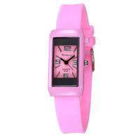 спортивные часы для девочек оптовых-Silicone Ladies Children Sports Quartz Wrist Watches Women Watch Kids Watches Boys Girls Watch Clock  Infantil