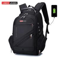 MAGIC UNION Children School Bags boy Backpacks Brand Design Teenagers Best  Students Travel Usb Charging Waterproof Schoolbag Y18120303 cdc9385486