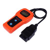 escáner obd2 eobd al por mayor-DHL Envío Gratis U281 OBD2 EOBD Lector de Código CAN-BUS Escáner de Diagnóstico U281 OBD 2 Escáner Lector de Código AirBag ABS Herramienta de Restablecimiento