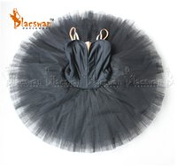 ballet dance tutu 2018 - Plain White Professional Ballet Tutu Costume for Girls Platter Tutu Adult Professional Plain Black Pancake Tutus Without Decor