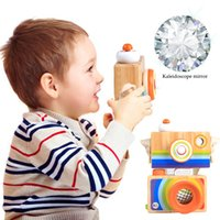 Wholesale wooden toys for kids online - Cute Nordic Hanging Wooden Camera Toys Kids Toys Gift cm Room Decor Furnishing Articles Christmas Gift For Kid Wooden Toy