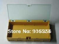 Wholesale electronic containers resale online - Electronic Case Kit SMT Components Storage Boxes Containers