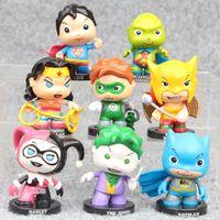 modelos de batman al por mayor-REGALO MINI Linterna Verde Batman Harley Quinn modelos Funko Pop Juego para niños Chucky Vinilo Figura de Acción # 531 Regalo Popular de Juguete Shippin Gratis