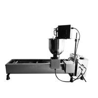 freidora eléctrica comercial al por mayor-Uso libre del envío 110v 220v eléctrico Auto Donuts Cake Donuts Donuts Machine Fryer